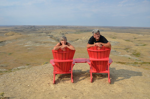 Grasslands East block red chairs