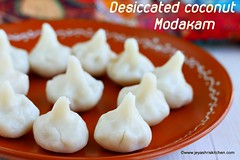 Desiccated coconut modak