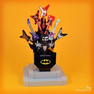 Ze Throne of Batman RockStar