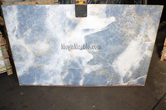 Blue Onyx 2cm Onyx slabs for countertops