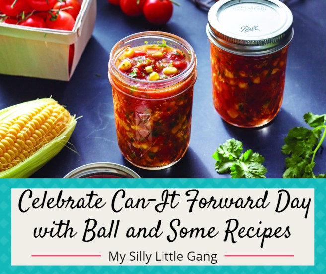 Celebrate Can-It Forward Day with Ball & Some Recipes