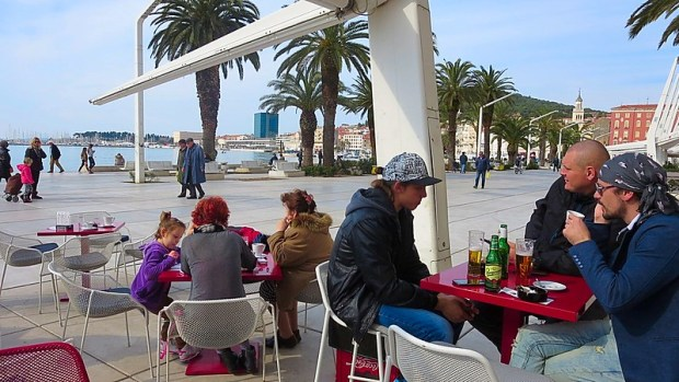 Split Ancient Croatian Coastal city
