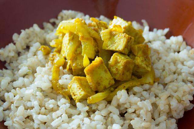 Tofu a la moruna