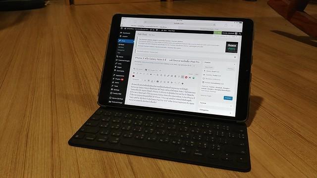 """เอา iPad Pro 10.5"""" มาเขียนบล็อกตอนนี้แหละ"""