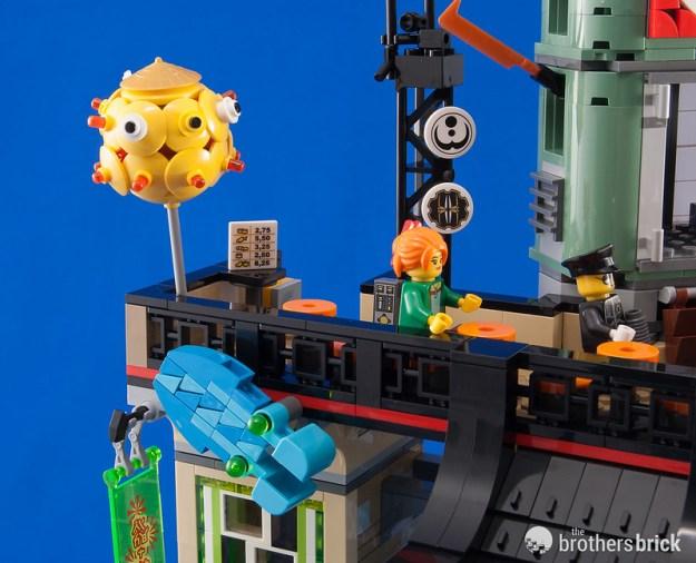The Lego Ninjago Movie S Largest Set 70620 Ninjago City