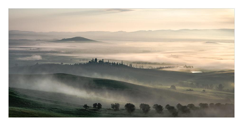 Valle de Orcia Mapa  Provincia de Siena Italia  Mapcarta