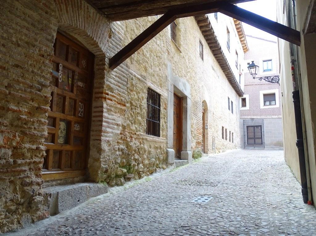 Segovia Barrio de la Judería Judio 02