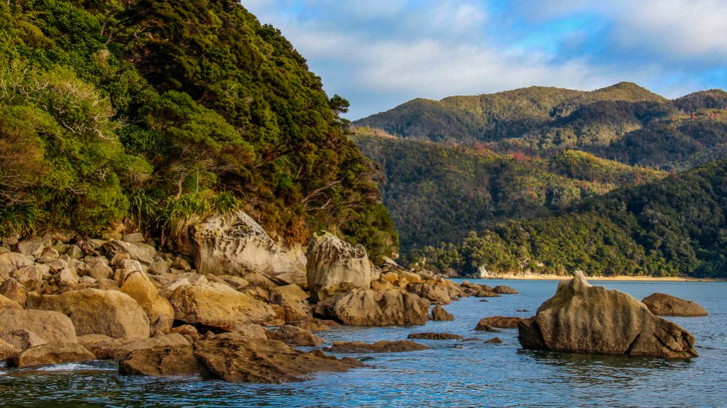 cruise i Abel Tasman National Park