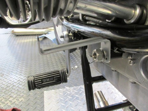 Lower Panel Bracket Orientation on Front Engine Mount Rod