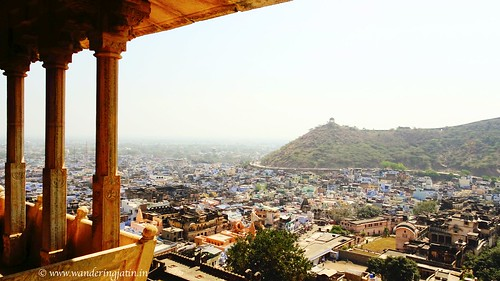 Cityscape from Taragarh Fort