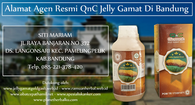 Alamat Agen Resmi QnC Jelly Gamat Di Bandung