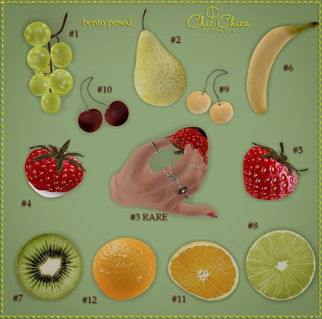 Fruit Gacha by ChicChica OUT @ Whimsical