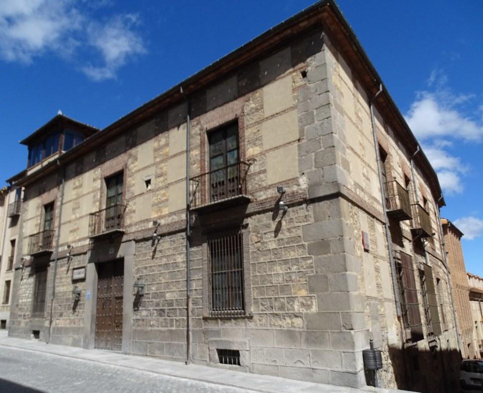 Segovia Palacio de la Floresta de Trifontane 01