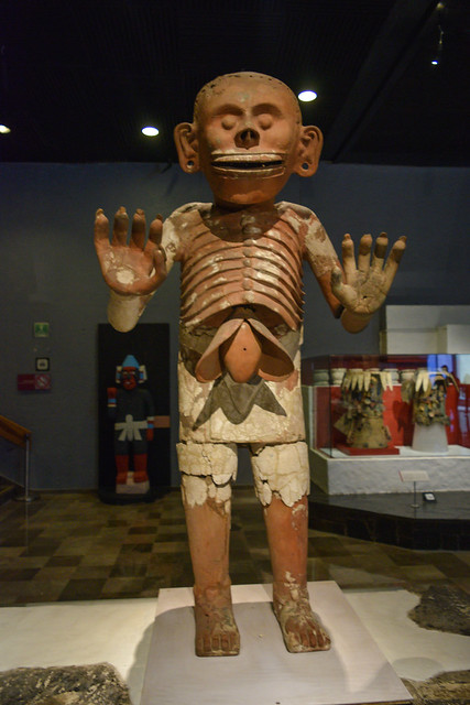 Mictlantecuhtli statue recovered from the ruins of Templo Mayor