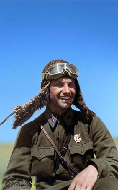 Hero of the Soviet Union Piotr Dziuba | ГСС лейтенант Пётр Дзюба
