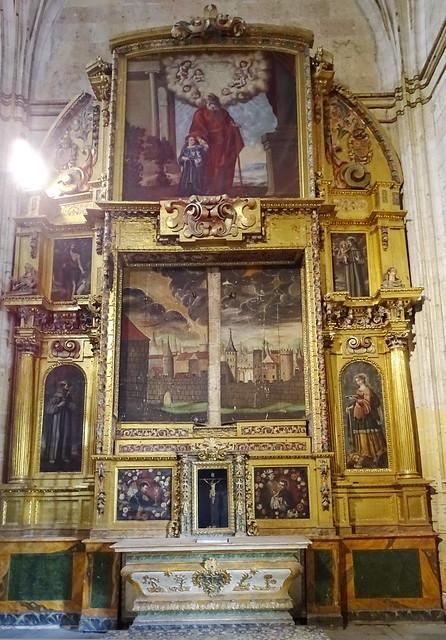 Segovia Capilla del Cristo del Consuelo Catedral de Nuestra Señora de la Asunción y de San Frutos 05