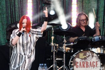 Garbage @ Red Hat Amphiheater in Raleigh NC on August 5th 2017