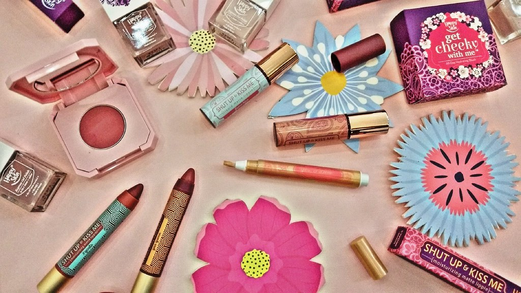 Happy Skin Bridal inspired Makeup Collection