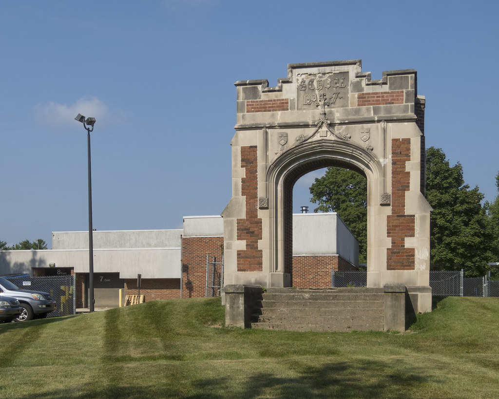 Arch at Crooked Creek School
