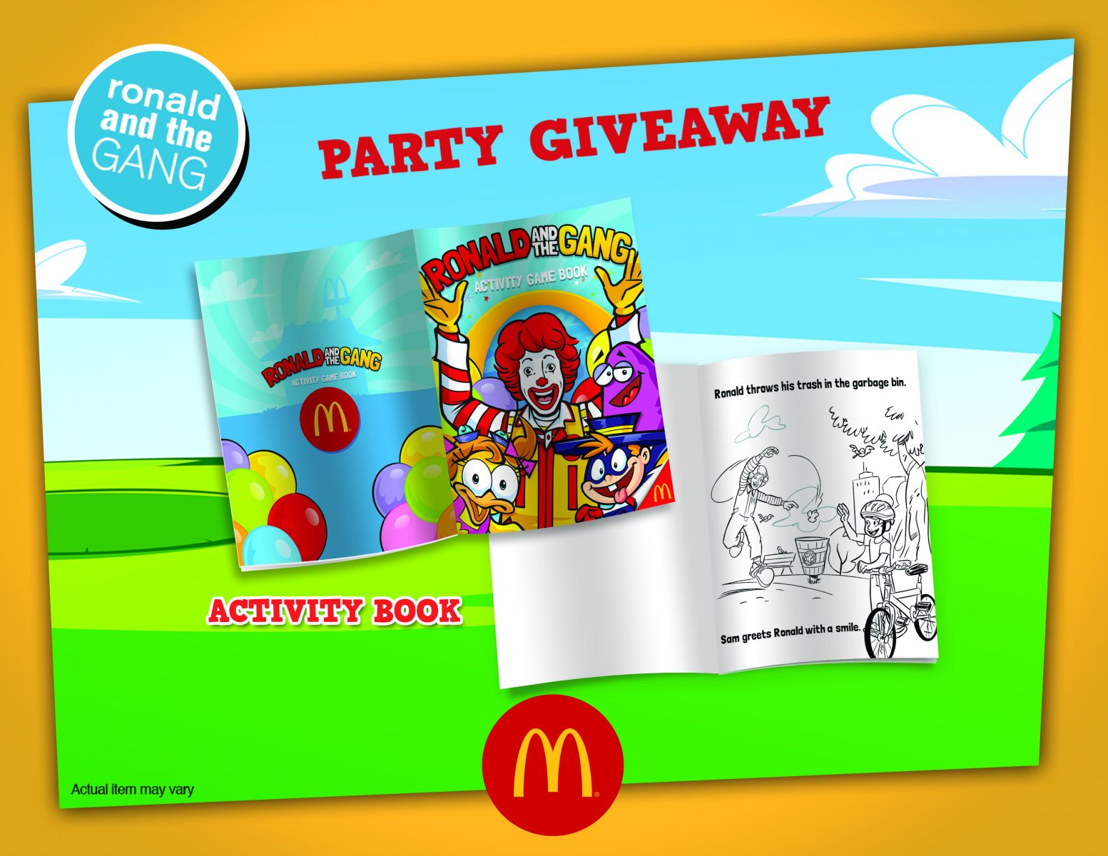 McDonald\'s McCelebrations Birthday Party Review