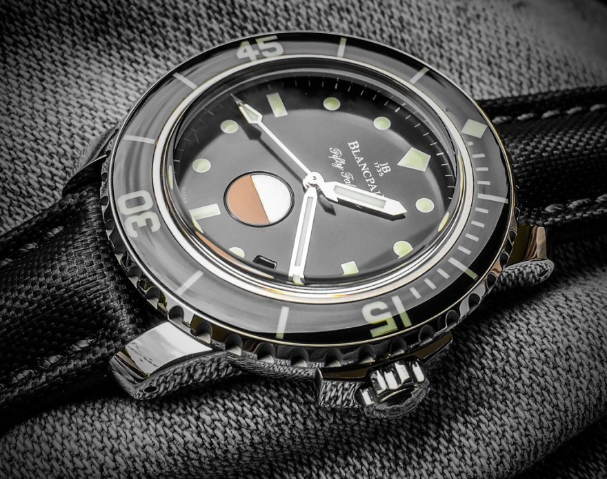 Blancpain Fifty Fathoms Tribute to MilSpec