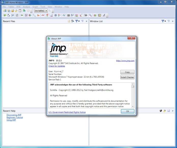 Working with SAS JMP Statistical Discovery 13.2.1 full