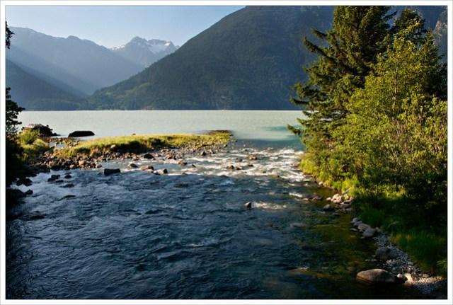 Where the creek meets the sea