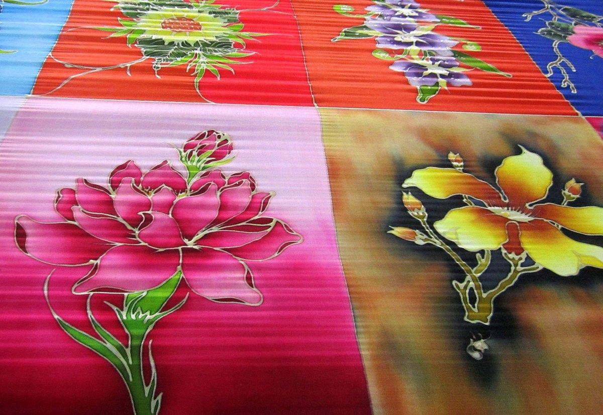 Malaysian batik on sale in Kuala Lumpur