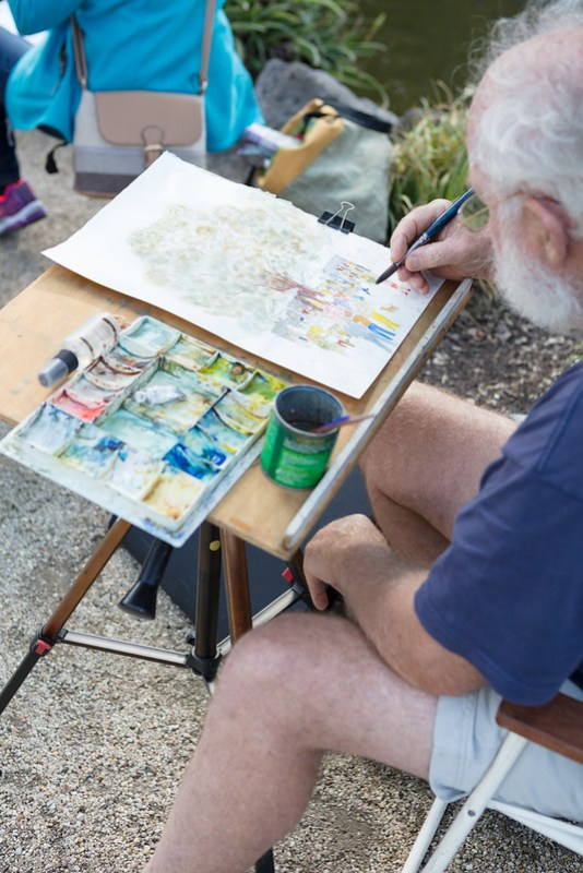 Williamstown Paint the Gardens