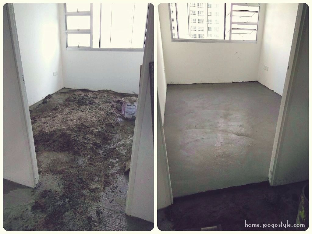 Should you opt for hdb flooring and ocs joogohome since we didnt opt in for hdb flooring the recent change in ruling to use prepacked cement screed significantly increase the renovation cost dailygadgetfo Image collections