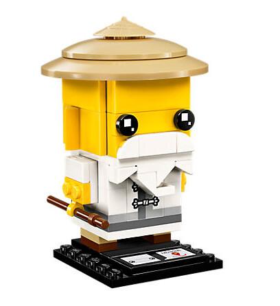 41488 Master Wu LEGO Ninjago Movie BrickHeadz