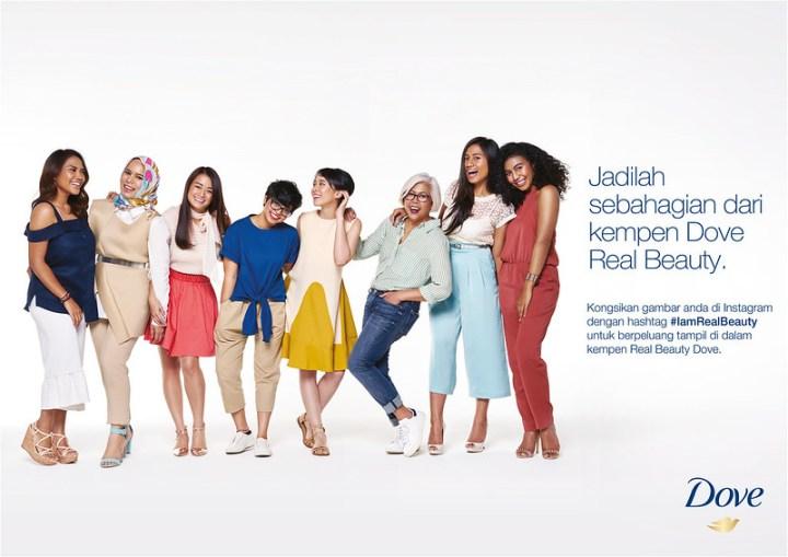 Dove Lancar Pencarian Wanita Sejati Malaysia #IamRealBeauty