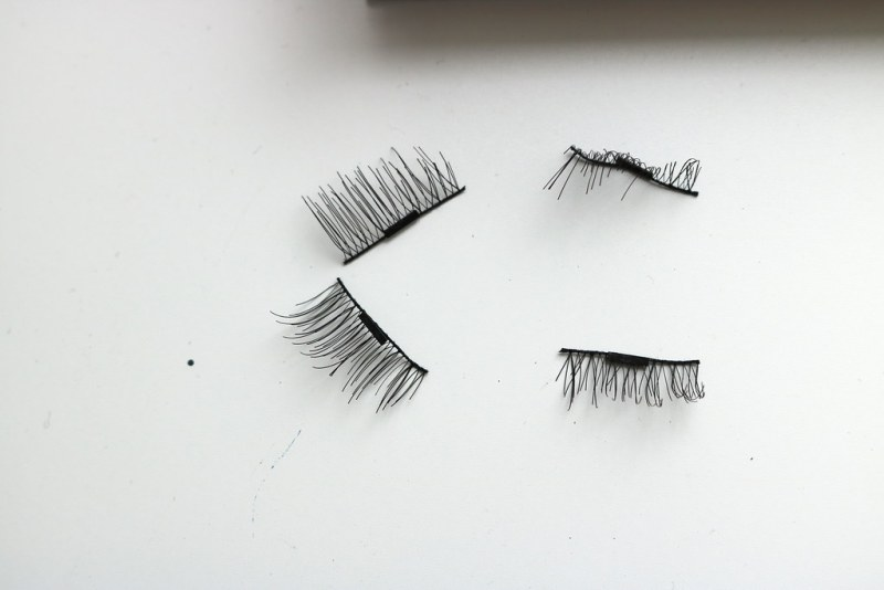 Lash pieces laid out