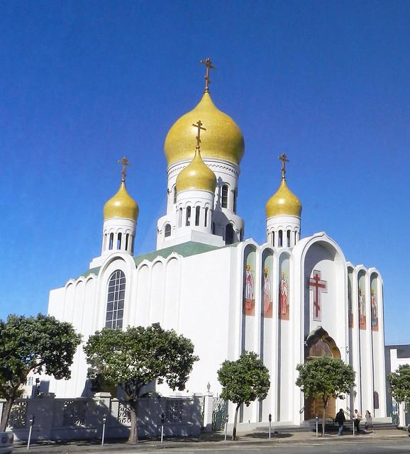 Catedral Ortodoxa Rusa San Francisco California EEUU 03