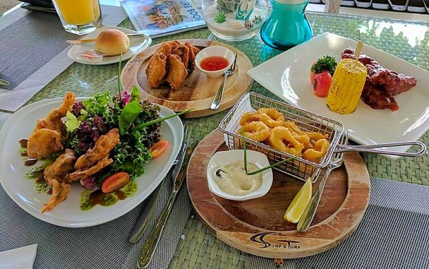 Excellent Beachside Pattaya Restaurant
