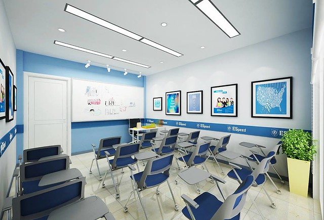 Trung tâm anh ngữ thu hút học viên bằng cách thiết kế xây dựng độc đáo