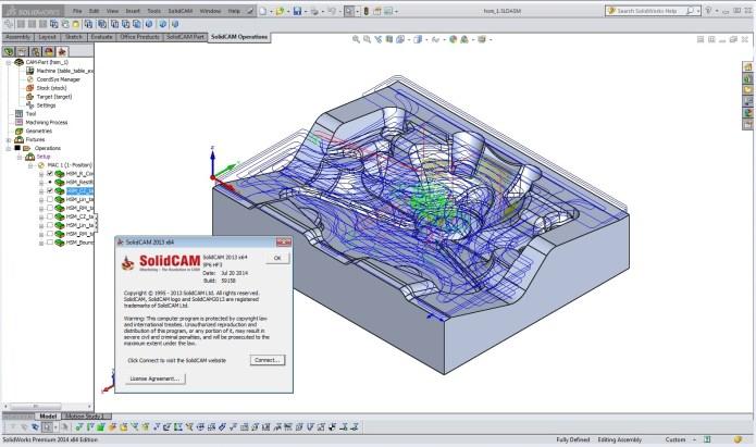 Lập trình gia công với Phần mềm SolidCAM 2013 SP6 full license