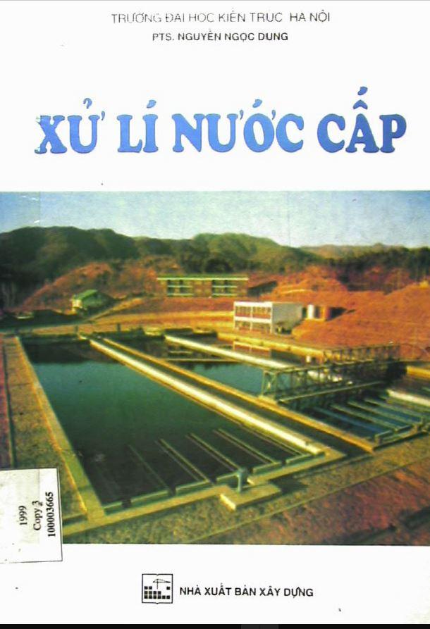 Bìa sách xử lý nước cấp - Nguyễn Ngọc Dung