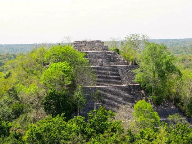 La mejor zona arqueológica de Campeche