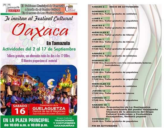 programa Guelaguetza