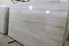 White Macaubas Quartzite Slab - Natural Stone