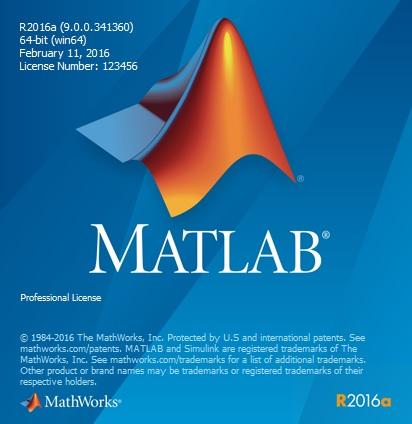Thông tin bản quyền phần mềm matlab 2016 full license