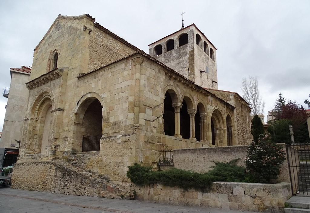 Segovia Iglesia de San Clemente 01