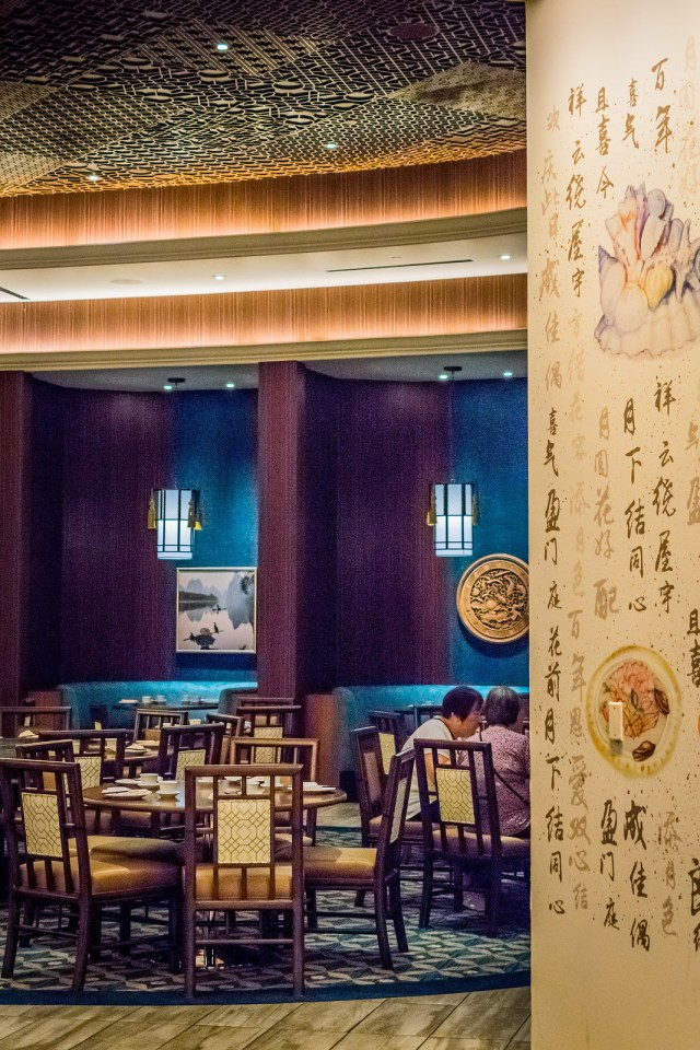 the walls of Pearl Ocean are covered in handpainted watercolor murals