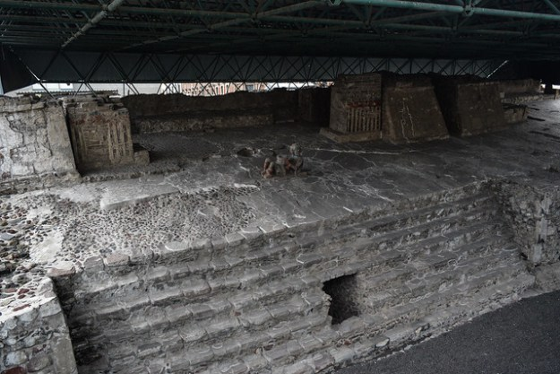 Chacmool at Templo Mayor Ruins