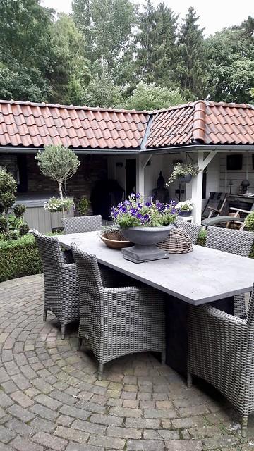 Tuinset landelijke stijl