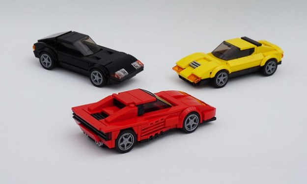 Lego Ferraris - Tre Generazioni