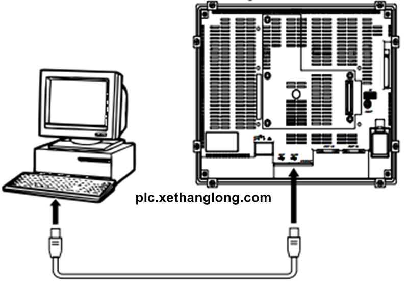Việt Matic: Khắc phục lỗi màn hình HMI Omron NS không kết