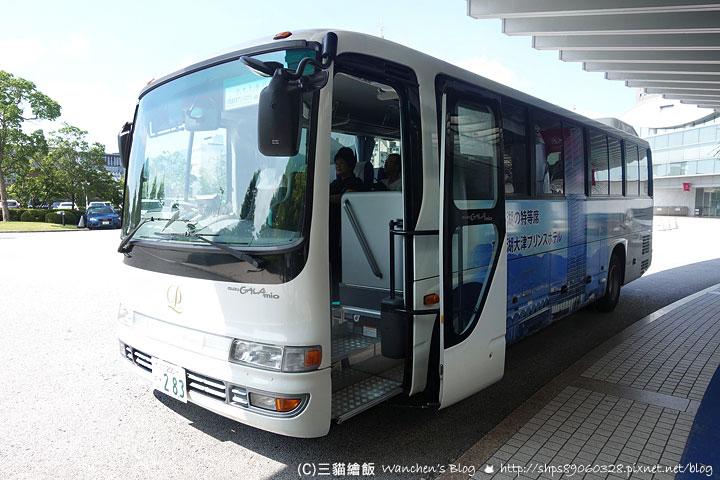大津王子飯店接駁車