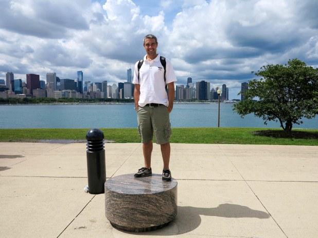 Skyline de Chicago desde Adler Planetarium